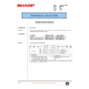 Sharp AR-C150 (serv.man79) Technical Bulletin