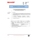 Sharp AR-C150 (serv.man80) Technical Bulletin