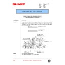 Sharp AR-C150 (serv.man82) Technical Bulletin