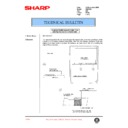 Sharp AR-C150 (serv.man85) Technical Bulletin