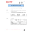 Sharp AR-C150 (serv.man87) Technical Bulletin