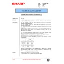 Sharp AR-C150 (serv.man88) Technical Bulletin