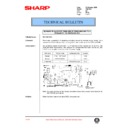 Sharp AR-C150 (serv.man89) Technical Bulletin