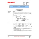 Sharp AR-C150 (serv.man91) Technical Bulletin