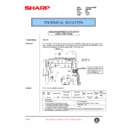 Sharp AR-C150 (serv.man93) Technical Bulletin