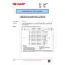 Sharp AR-C150 (serv.man95) Technical Bulletin