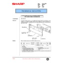Sharp AR-C150 (serv.man96) Technical Bulletin