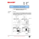 Sharp AR-C150 (serv.man97) Technical Bulletin