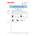 Sharp AR-C250 (serv.man16) Technical Bulletin