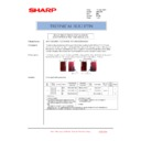 Sharp AR-C250 (serv.man18) Technical Bulletin