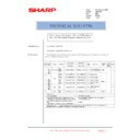 Sharp AR-C250 (serv.man20) Technical Bulletin