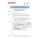 Sharp AR-C250 (serv.man21) Technical Bulletin