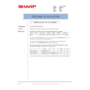 Sharp AR-C250 (serv.man25) Technical Bulletin
