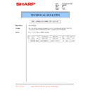 Sharp AR-C250 (serv.man27) Technical Bulletin