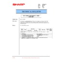 Sharp AR-C250 (serv.man29) Technical Bulletin