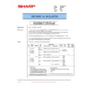 Sharp AR-C250 (serv.man33) Technical Bulletin