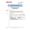 Sharp AR-C250 (serv.man35) Technical Bulletin