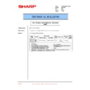 Sharp AR-C250 (serv.man36) Technical Bulletin