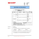 Sharp AR-C250 (serv.man40) Technical Bulletin