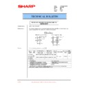 Sharp AR-C250 (serv.man43) Technical Bulletin