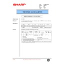 Sharp AR-C250 (serv.man47) Technical Bulletin