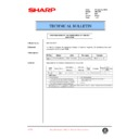 Sharp AR-C250 (serv.man52) Technical Bulletin