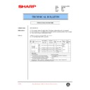 Sharp AR-C250 (serv.man53) Technical Bulletin