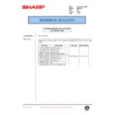 Sharp AR-C250 (serv.man57) Technical Bulletin