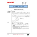 Sharp AR-C250 (serv.man58) Technical Bulletin
