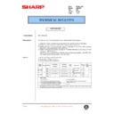 Sharp AR-C250 (serv.man59) Technical Bulletin