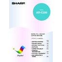 Sharp AR-C250 (serv.man6) User Guide / Operation Manual