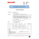 Sharp AR-C250 (serv.man63) Technical Bulletin