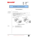 Sharp AR-C250 (serv.man66) Technical Bulletin