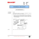 Sharp AR-C250 (serv.man67) Technical Bulletin