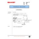 Sharp AR-C250 (serv.man68) Technical Bulletin