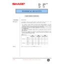 Sharp AR-C250 (serv.man69) Technical Bulletin