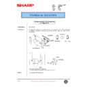 Sharp AR-C250 (serv.man70) Technical Bulletin