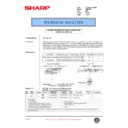 Sharp AR-C250 (serv.man72) Technical Bulletin