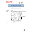 Sharp AR-C250 (serv.man73) Technical Bulletin