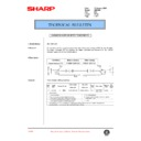 Sharp AR-C250 (serv.man74) Technical Bulletin