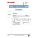 Sharp AR-C250 (serv.man76) Technical Bulletin