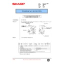 Sharp AR-C250 (serv.man80) Technical Bulletin
