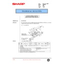 Sharp AR-C250 (serv.man82) Technical Bulletin
