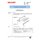 Sharp AR-C250 (serv.man83) Technical Bulletin