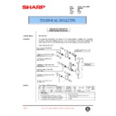 Sharp AR-C250 (serv.man86) Technical Bulletin