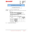 Sharp AR-C260P (serv.man21) Technical Bulletin