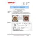 Sharp AR-C260P (serv.man23) Technical Bulletin