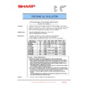 Sharp AR-C260P (serv.man24) Technical Bulletin