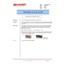 Sharp AR-C260P (serv.man25) Technical Bulletin