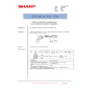 Sharp AR-C260P (serv.man26) Technical Bulletin